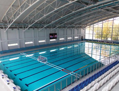 Moskova Vodny Olympiapark Tam Olimpik Yüzme Havuzu